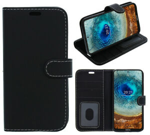 For Nokia 8.3 5G Phone Case, Cover, Flip Book, Wallet, Folio, Leather /Gel