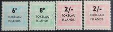 Tokelau – 1966  Overprints Set + Extra 2 Shilling – Mint (Se1)