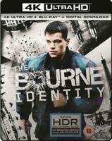 The Bourne Identity 4K Ultra HD Blu Ray NEW 4K UHD REGION B UK Movie