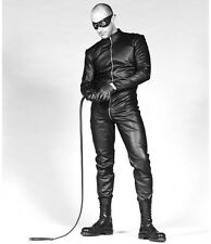 New Genuine Leather Overall Male Catsuit Front Zip full sleeves Kleid Roleplay