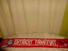 """Eintracht Frankfurt Fan Schal """"DIE MACHT VOM MAIN EINTRACHT POWER WALDSTADION"""""""