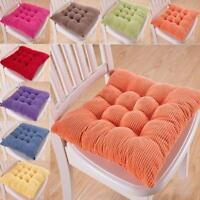 Thick Soft Corduroy Cushion Pad Seat Chair Patio Sofa Home Car Office MA