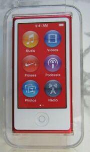 Apple iPod nano 7th Generation (LATEST MODEL!!) PRODUCT RED!