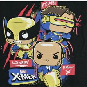 NIB Funko Tee: Marvel - X-MEN 20th - MEDIUM- Collector Corp Exclusive (T-Shirt)