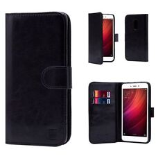 Fundas con tapa Para Xiaomi Mi 5 color principal negro para teléfonos móviles y PDAs