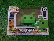 Space Invaders - Medium Invader Green 8-Bit Pop! Vinyl Figure 33