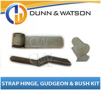 100mm Steel Side Board Hinge Kit (Strap, Gudgeon, Nylon Bush) Utes, Trailers