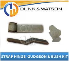 100mm Steel Side Board Hinge Kit (Strap, Gudgeon, Nylon Bush) Utes, Trailers