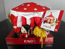 FAO SCHWARZ BIG TOP CIRCUS PLAYSET 15612 #5F534D Includes Plush Animals Tent O-7