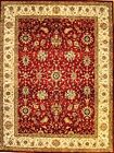 Hand-knotted Rug (Carpet) 8'9X11'8, Agra mint condition