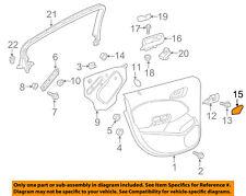 Chevrolet GM OEM Cruze Interior-Rear Door-Handle, Inside Cover Left 13453891