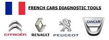 LEXIA 3 + Can Clip, Citroen + Peugeot + pour Renault + Dacia outils de diagnostic