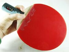 Double Fish 6A-E Stars Ping Pong Short Paddle Table Tennis Offensive Racket