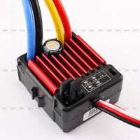 HobbyWing QuicRun 1:10 Waterproof Brushed 60A ESC Set RC Car Buggy Touring 1060