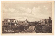 Arundel Main Street General View Quebec Canada  Antique Postcard #671