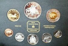 National Ballet of Canada Royal Canadian Mint 2001 8-Coin DD Proof Set