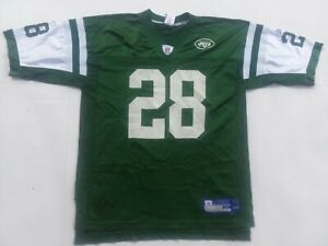New York Jets Curtis Martin #28 Home Jersey - Size Mens XL - Green Reebok nfl 🏈