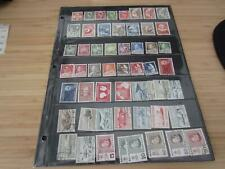 Greenland 98 different used stamps with a catalog value of $110 -122