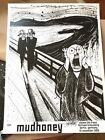 SIGNED JOEY FELDMAN MUDHONEY Berlin SOLDOUT x/100 SIGNED Edvard Munch The Scream