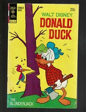 GOLD KEY COMICS DONALD DUCK 151 VGF 5.0 THE BLUNDERJACK HUEY DEWEY & LOUIE