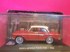 SUPERBE SIMCA ARONDE P60 ELYSEE 1960 NEUF BOITE SOUS BLISTER  1/43 M9