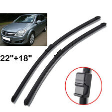 2PCS Front Window Windshield Wiper Blades For 2004-2009 Opel Astra H Vauxhall