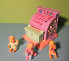 Polly Pocket Mini ♥ Mimi & the Goo Goos ♥ Süße aufklappbare Kasse ♥ 3 Babys ♥