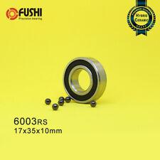 6003-2RS(17x35x10mm)Hybrid Ceramic Bearing Rubber Sealed Ball Bearings 17 35 10