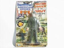 OLD 1966 LAKESIDE AMERICAN HEROES FIGHTING MAN ARMY SUPER FLEX MADE HONG KONG