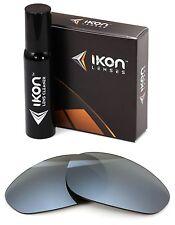 Polarized IKON Iridium Replacement Lenses For Oakley Unknown Silver Mirror