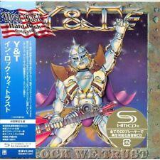 Y & T – In Rock We Trust – UICY-94053 SHM JAPAN MINI LP