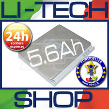 Batteria compatibile 5600mAh per CODICE APPLE A1175 NOTEBOOK COMPUTER PILA 5.6Ah