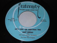 Ruby Wright: Let's Light The Christmas Tree / Merry, Merry Christmas 45
