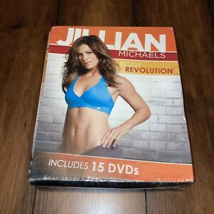 Jillian Michaels Body Revolution Extreme 90-day Weight Loss System 15 Dvds,3 Bks