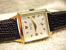 "Vintage Gruen Veri-Thin Dress ""Tank"" watch, Textured dial Near MINT condition!!"
