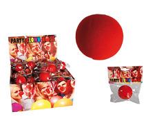 1 x Clownnase  Karneval Fasching RedNose Kindergeburtstag Schaumstoff rot