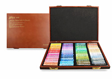 Mungyo Gallery Soft Oil Pastels Set of 72 Assorted Colors Wooden Case, Mopv-72W