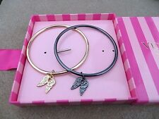 NEW - Victoria's Secret Bangle Bracelets set of 2