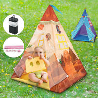 Folding Children Play Tents Portable Teepee Game Toy Castle House Indoor