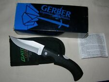 New Gerber Gator Knife 650 with Sheath Fine Edge - Clip Point - Made in the USA