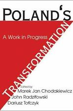 Poland's Transformation : A Work in Progress (2006, Paperback)