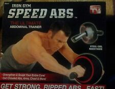 Iron gym speed ABS THE ULTIMATE ABDOMINAL TRAINER NEW
