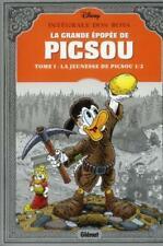 la grande épopée de Picsou ; intégrale t.1 ; la jeunesse de Picsou