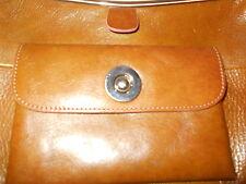 Wilsons Leather Pelle Studio Bag Purse Beautiful Rich Cognac Brown Color #9158