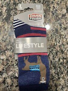 Darn Tough Womens Crew Socks Style 6037 Denim (Size 7.5-9.5)