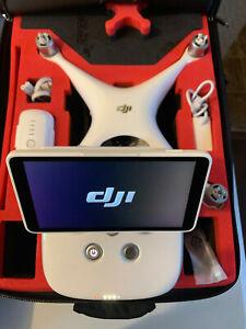 DJI Phantom 4 PRO Plus + Quadcopter Drone W/ Original Foam Carrying Case /Remote