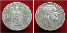 Netherlands - Zeldzame 2½ Gulden 1853/52