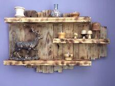 Rustic Reclaimed Wooden Shelving Unit Handmade