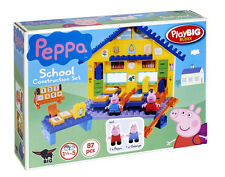 Construction Set PlayBIG School Peppa Pig 87 pcs. for children 18 months to 5 y.