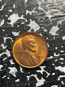 1945 U.S. Lincoln Penny Wheat Cent Lot#U022 High Grade! Beautiful!